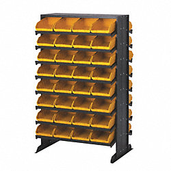 Sloped Shelving, 4Hx2-3/4Wx11-7/8D