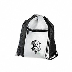 Backpack, Lab Dog, White/Black