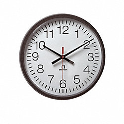 WALL CLOCK ROMAN BATTERY 2 1/4X13