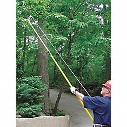Telescoping Fiberglass Pole, 7Ft-14Ft