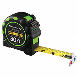 Tape Measure, Magnetic, 30Ft L