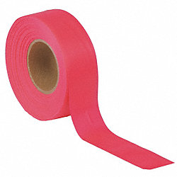 Taffeta Flagging Tape, Red Glo, 150 ft