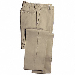Workwear Pants, Khaki, Size 34x32 In