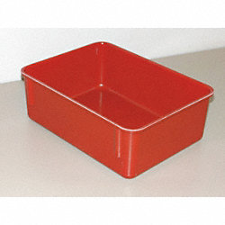 CONTAINER NESTING BOX RED 4 HX8 3/4