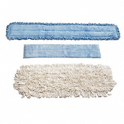 Dust Mop Bonnet, 5 In. W, 24 In. L