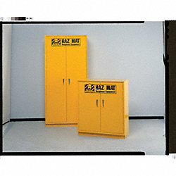 Combination Cabinet, Yellow