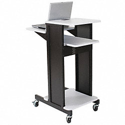 Presentation Cart, Gray