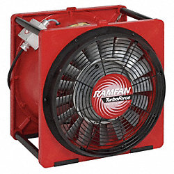 Smoke Eject.Fan, Axial, 16 In, 230V, 1/2HP