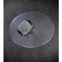 Ellipse Chair Mat, Carpet, 46 x 60 In.
