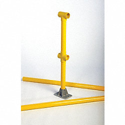 Guard Rail Line Post Kit, 6 Ft.