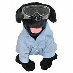 LSS Stuffed Laboratory Dog