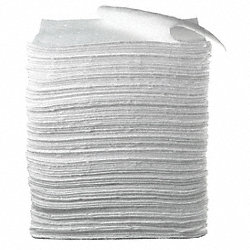 Absorbent Pads, 17 In. W, 19 In. L, PK 100