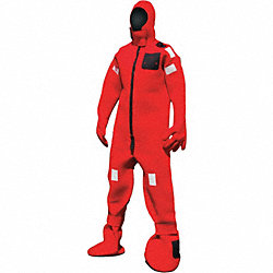 Immersion Suit, Neoprene, Universal, Red