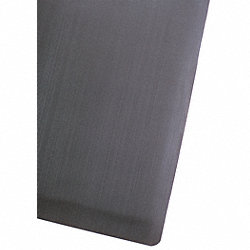 Anti-Fatigue Mat, Rubber/PVC, Blk, 2 x 3 ft
