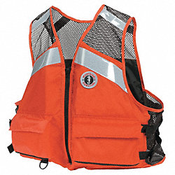Life Jacket, Orange, 4XL/5XL
